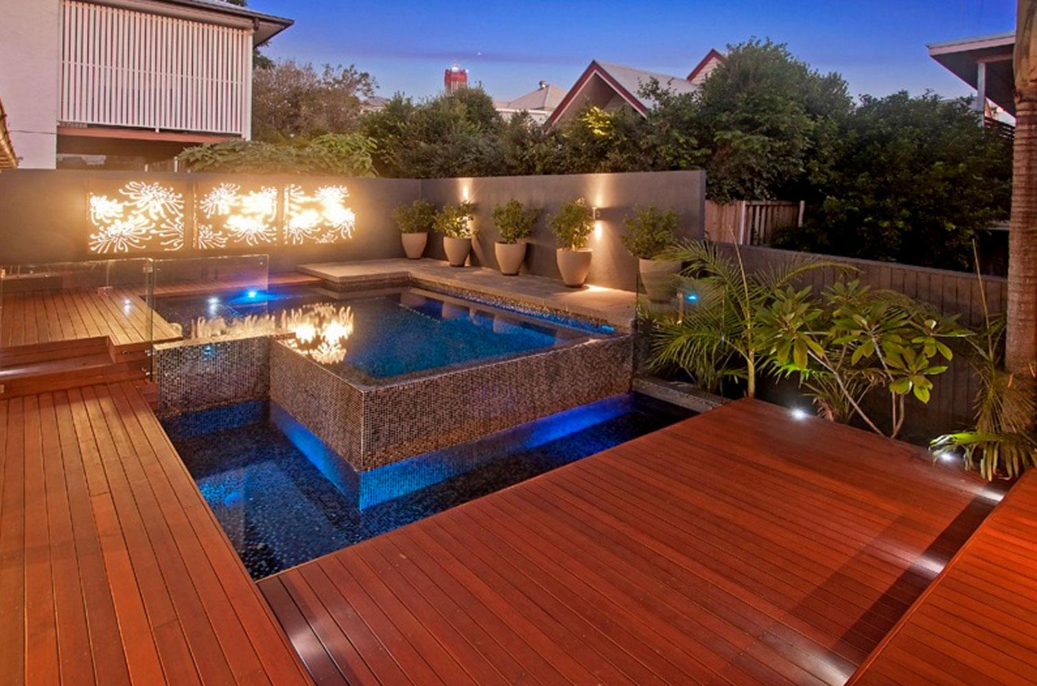 Pool Decking for inground concrete pools.