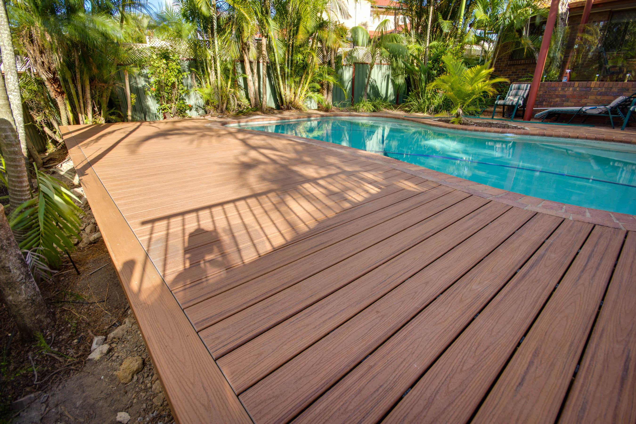 Carindale Trex Pool Deck