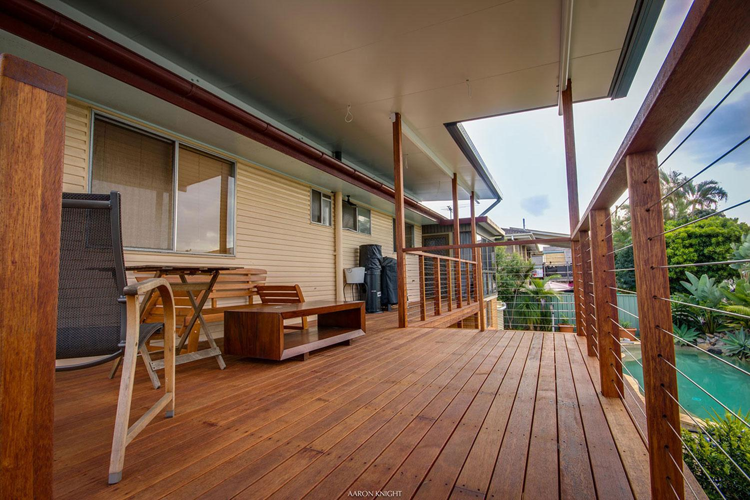 Flyover or Raised Patio Roof