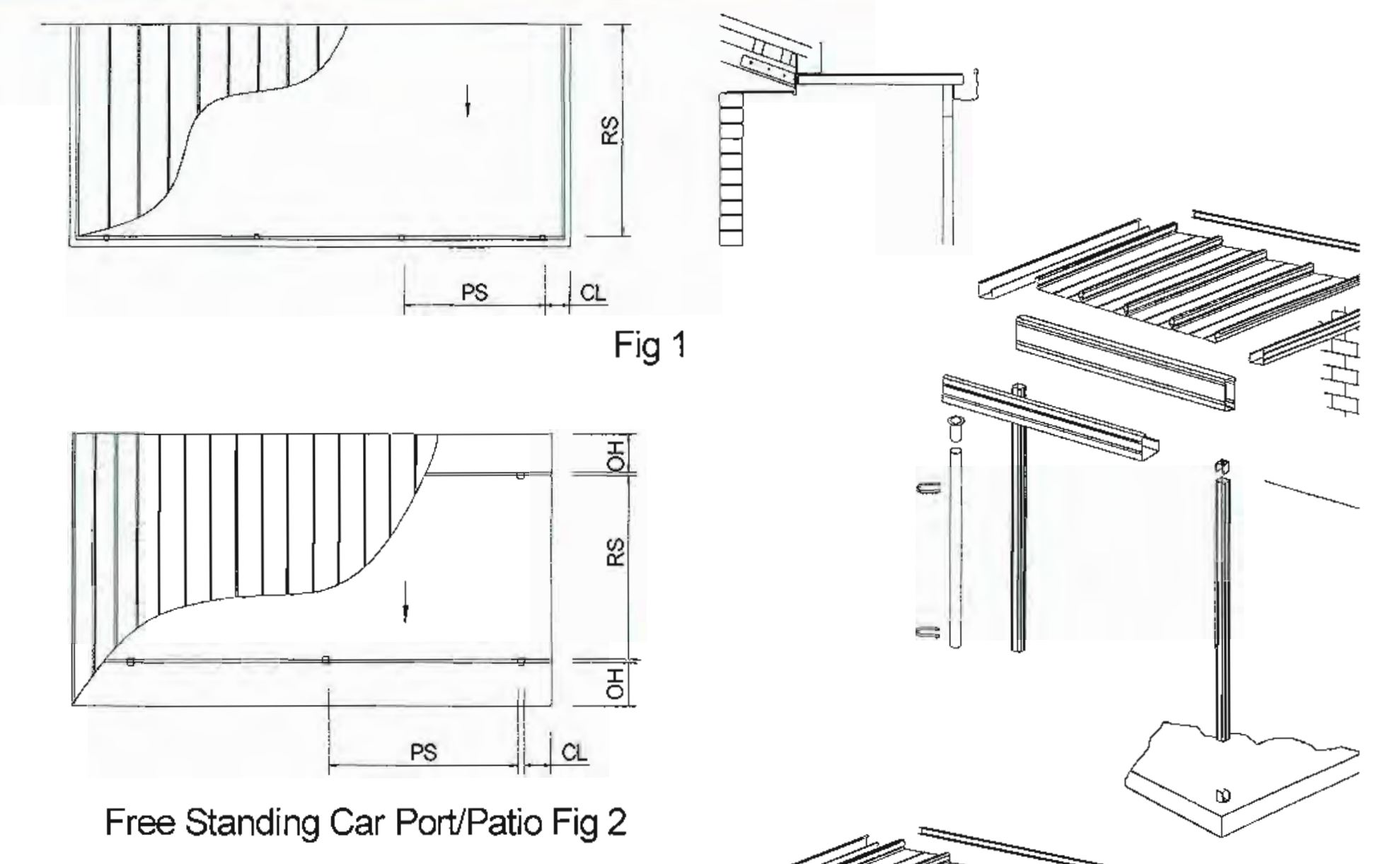 DIY Patio Roof Kit