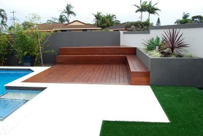 Burleigh Heads Pool decking