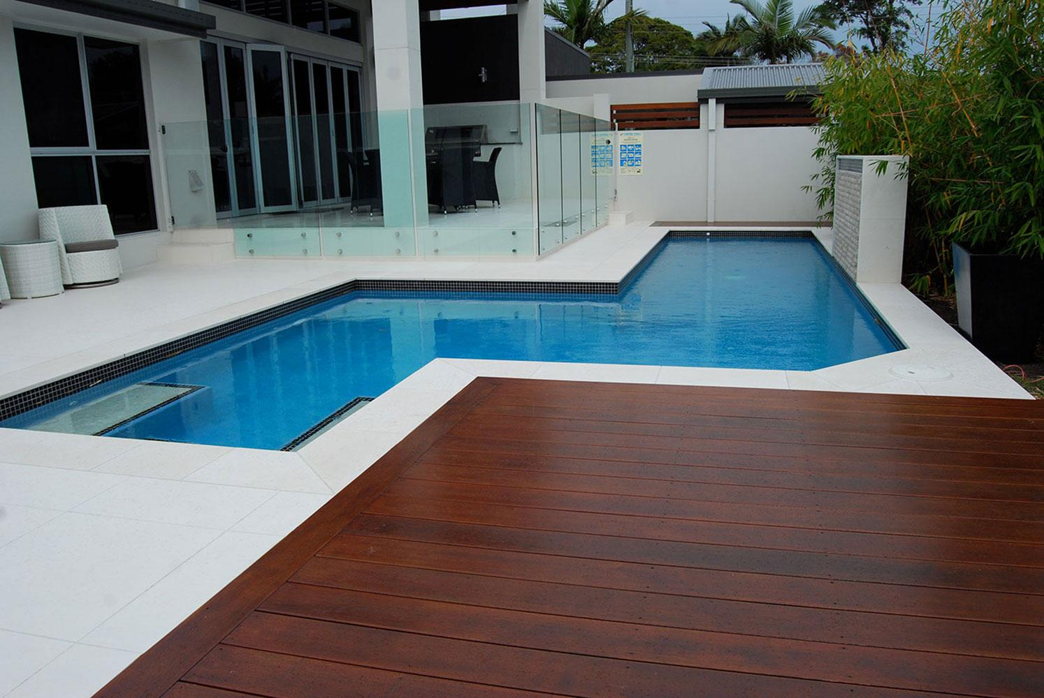 Pool Decking Brisbane Gold Coast Timber Pool Deck Builders