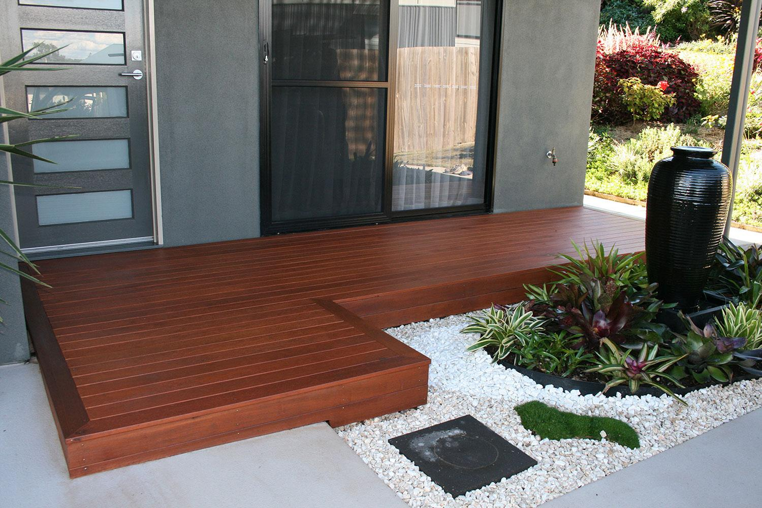 Decking Entrance ideas