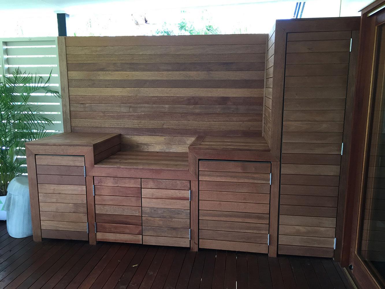 Timber Outdoor Kitchen Design Ideas Brisbane Gold Coast Logan