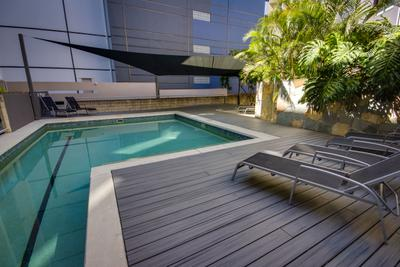 South Brisbane Trex Pool Decking